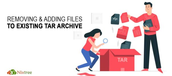 Removing and Adding Files to Existing Tar Archive