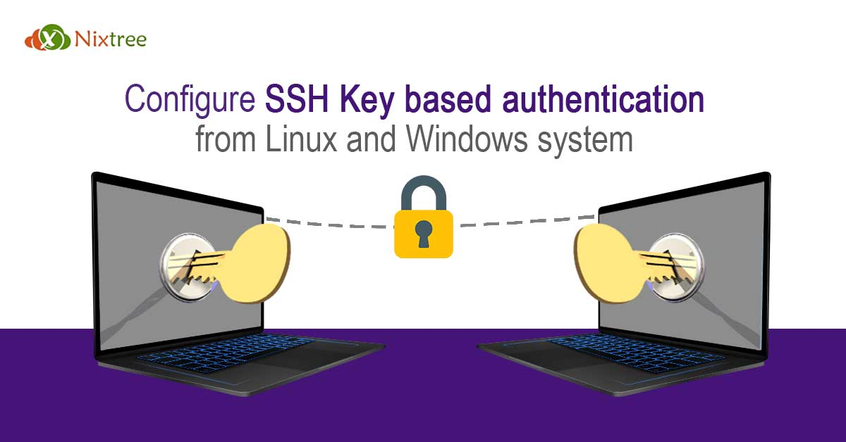Configure SSh Key based authentication from Linux and Windows-system