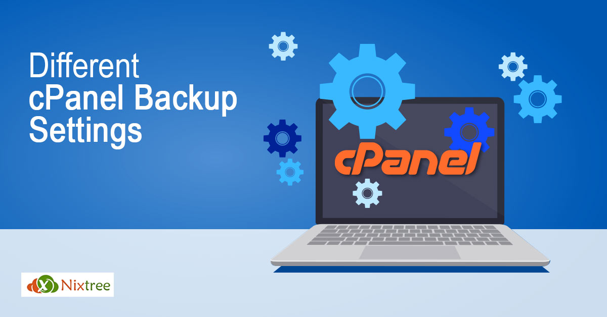cPanel Backup settings