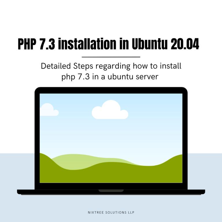 PHP 7.3 installations steps in Ubuntu 20.04